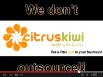 CitrusKiwi doesn't outsource offshore