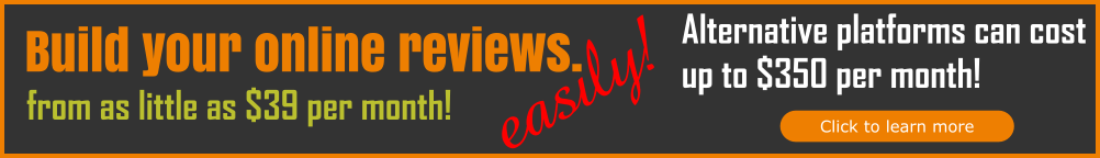 Build online reviews easily, cheaply